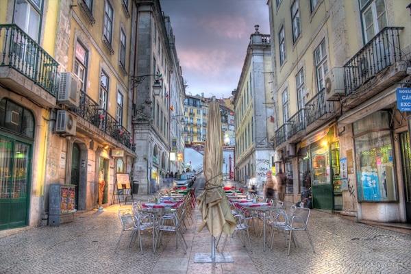 Lisbon, hdr