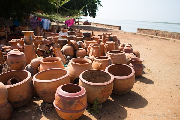pottery in Segou