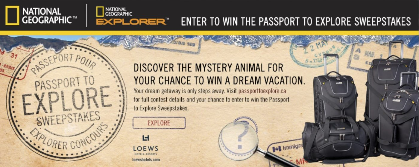 National Geographic's Passport to Explore Contest