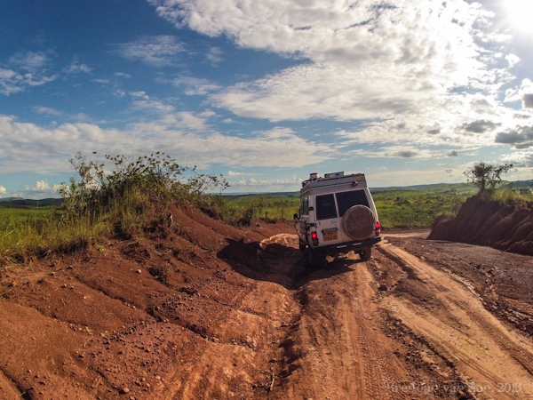 Jeep in DRC