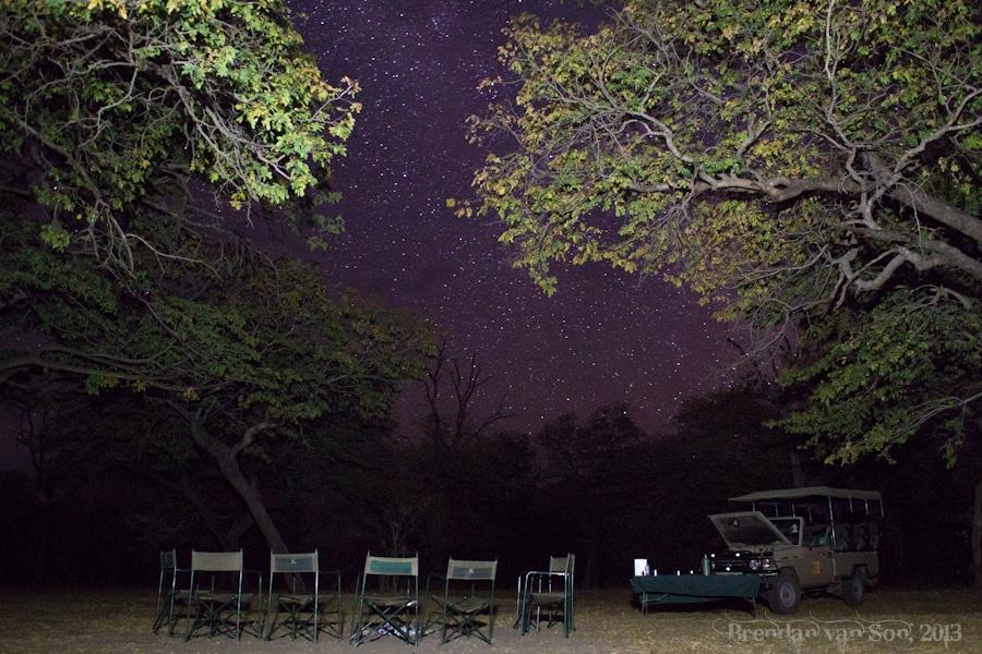 Chobe National Park, camping