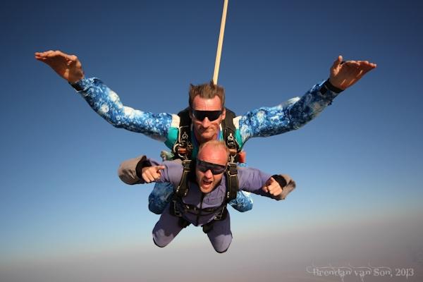 Skydiving, Swakopmund