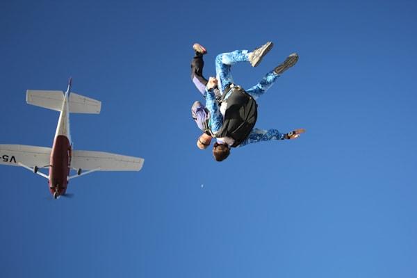 Skydiving swakopmund namibia