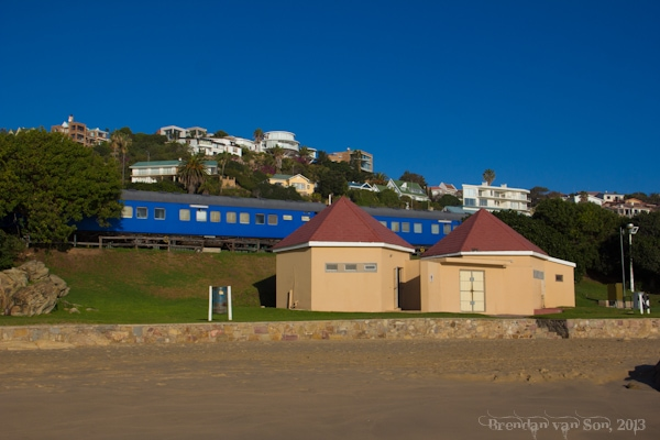 Train Hotel, Mossel Bay, South Africa