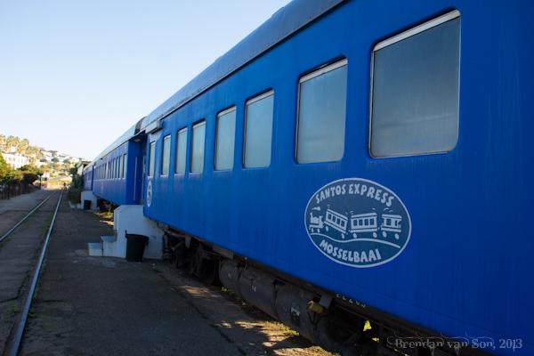 Train Hotel, Mossel Bay, South Africa