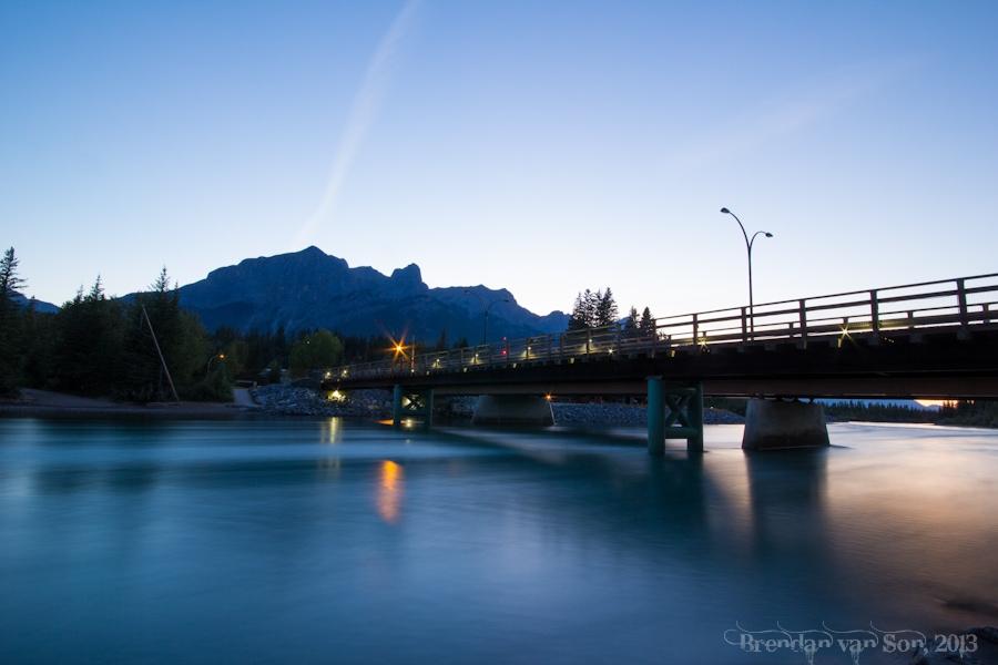 Bridge, Canmore, Alberta, Canada