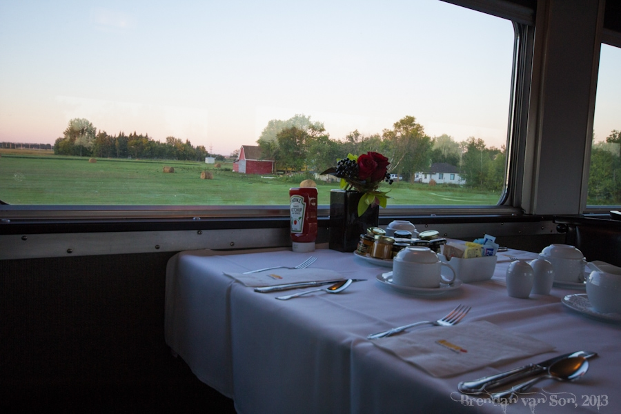 VIA, Train Across Canada, prairies