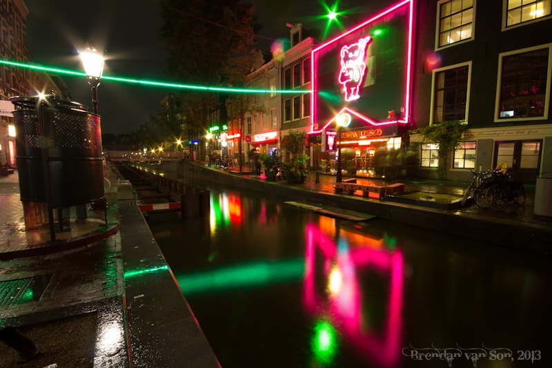 Amsterdam, redlight district