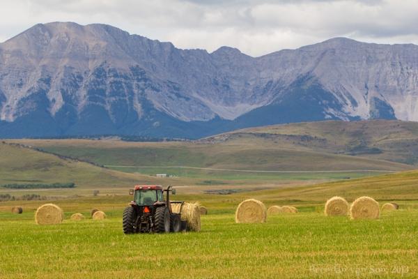 Cowboy Trail, tractor