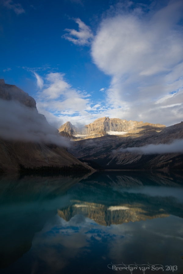 Icefields Parkway, Canada, Bow Lake