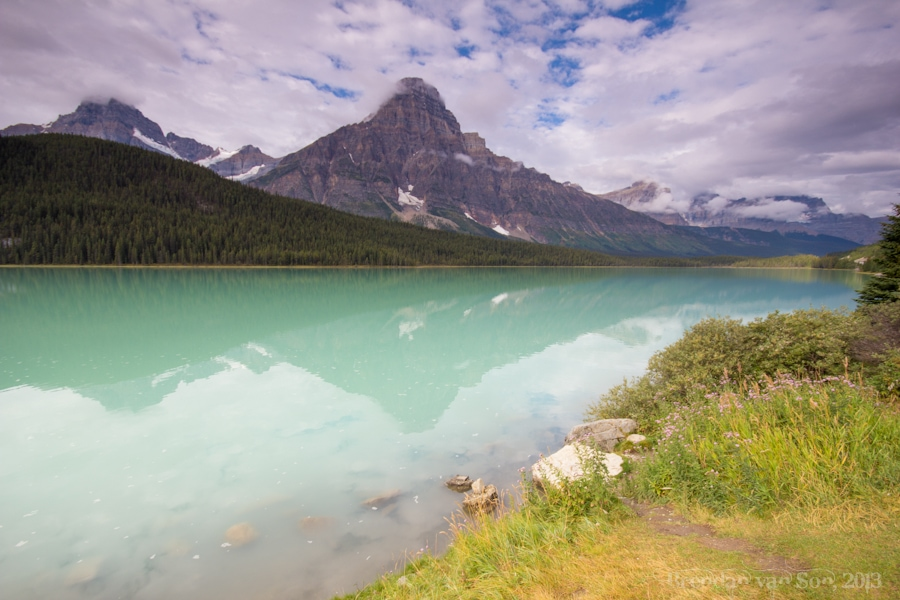 Waterfowl Lake, Icefields Parkway, Canada