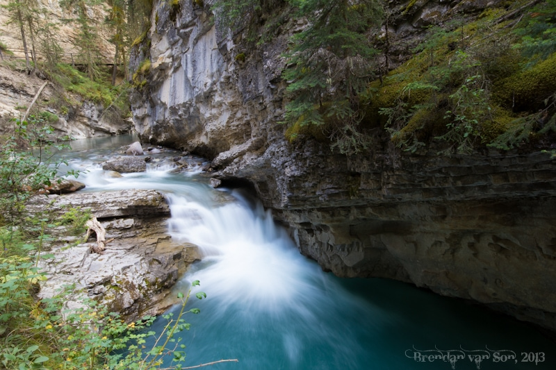 Johnston Canyon, Alberta, Canada