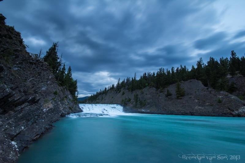 Bow Falls, Alberta, Canada