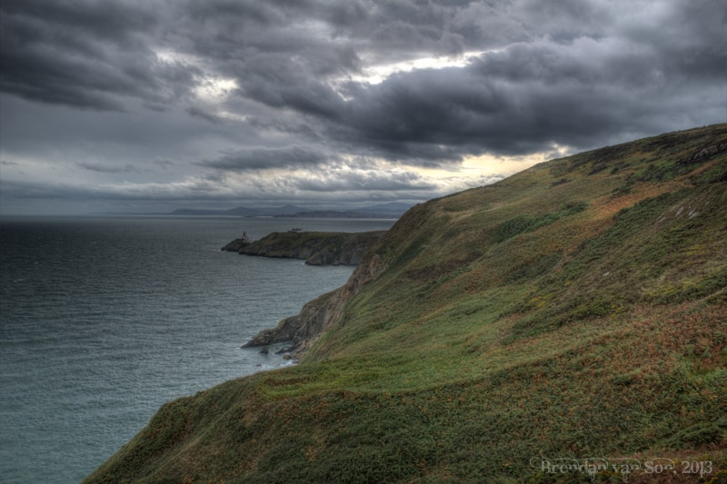 This was shot out along the cliffs near Howth. How can you not like these Irish landscapes?