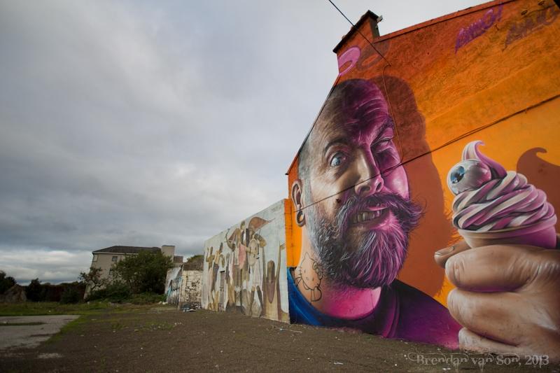 Limerick, Graffiti