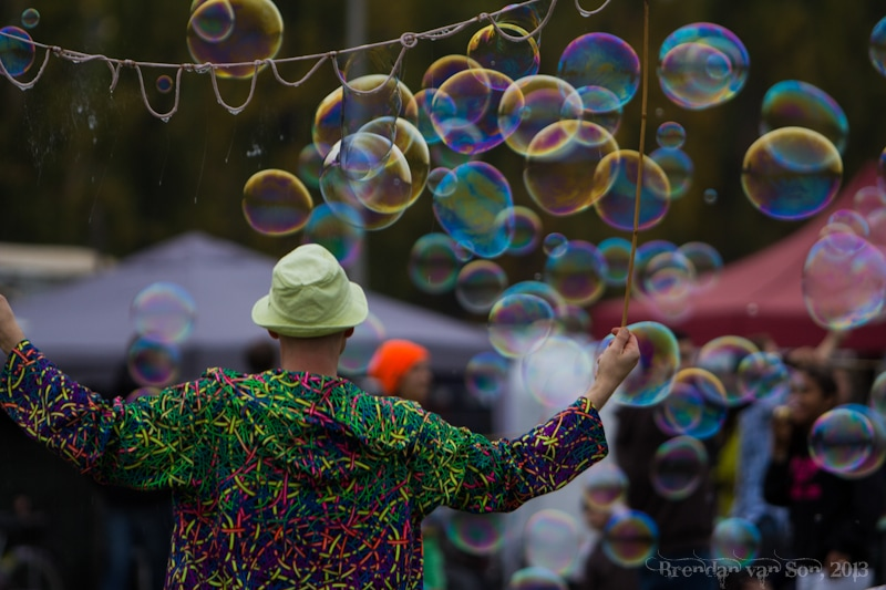 Bubbles, Berlin