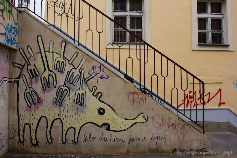Bratislava, graffitti