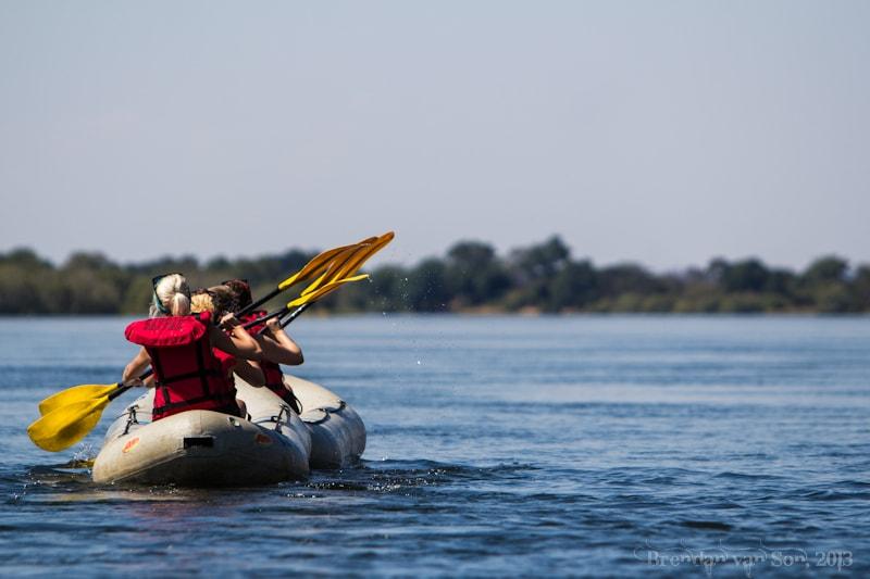 River Canoe, Zambia
