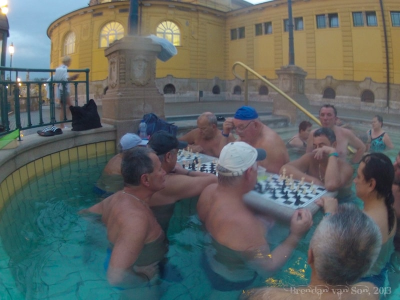 Szechenyi Thermal Baths, Chess