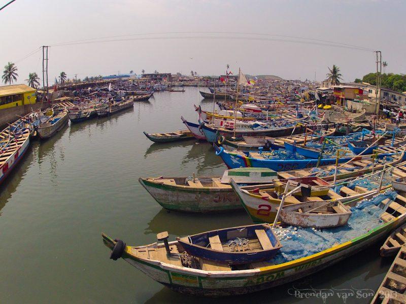 Ghana Pictures, Elmina port