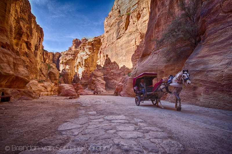 Petra Horse Carriage