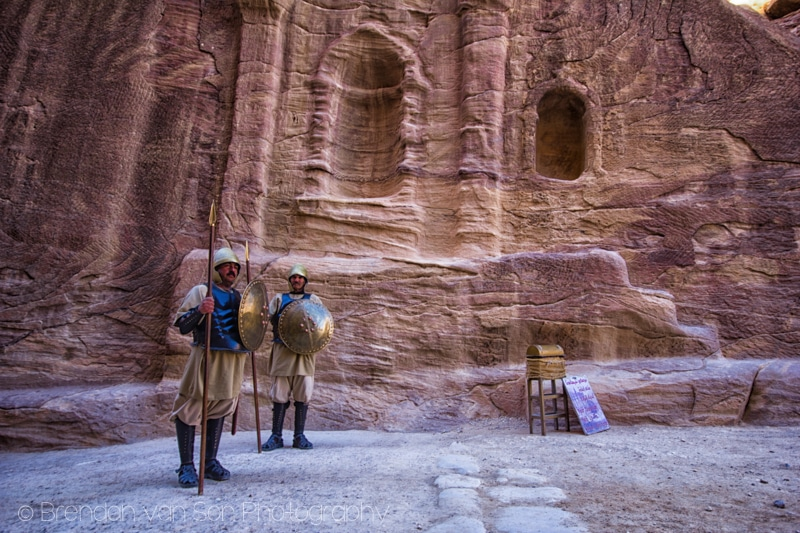 Guards, Petra