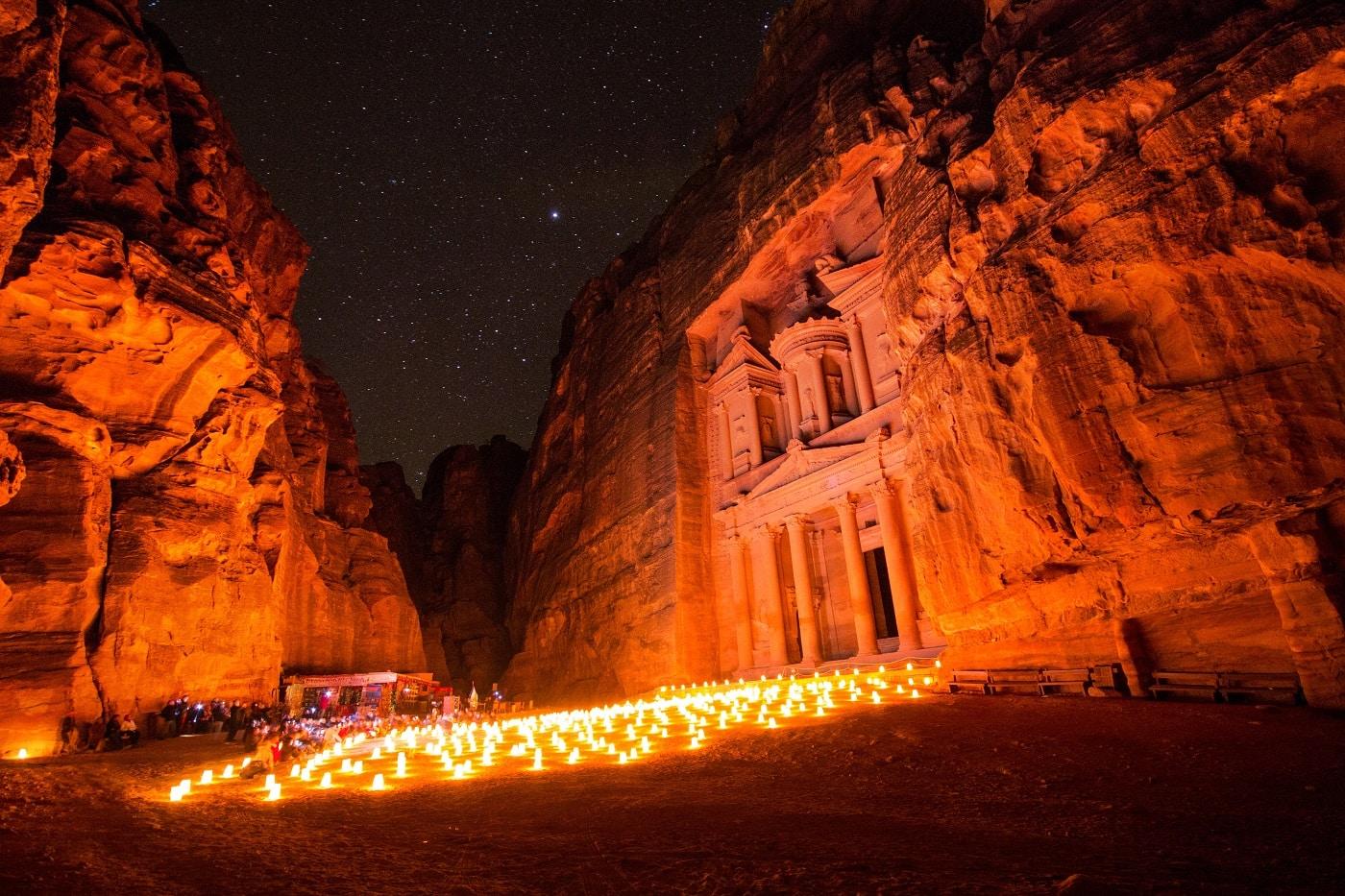 Petra under the Stars