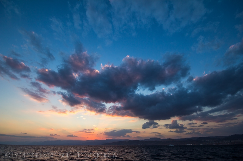 Sunset, Aqaba, Jordan