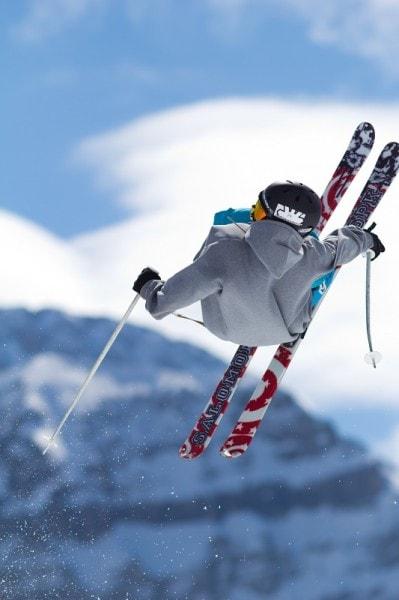 Switzerland Skier