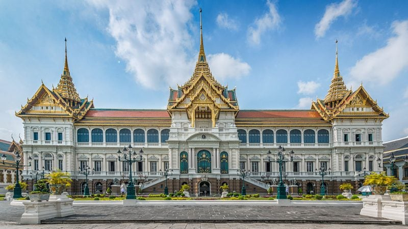 Photo of the Grand Palace in Bangkok by By Andy Marchand