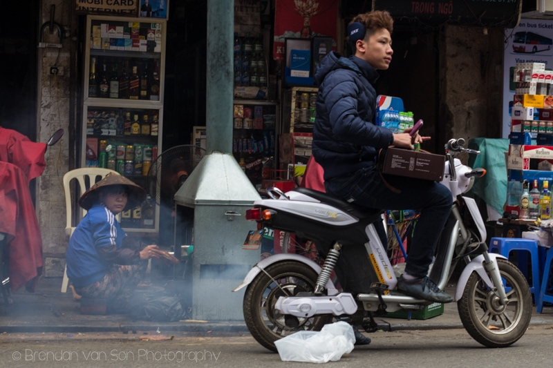 Scooter in Hanoi