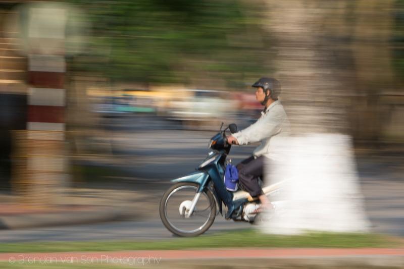 Hue, Vietnam, scooter