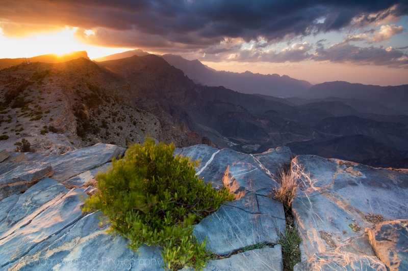 Jabal Shams, Oman