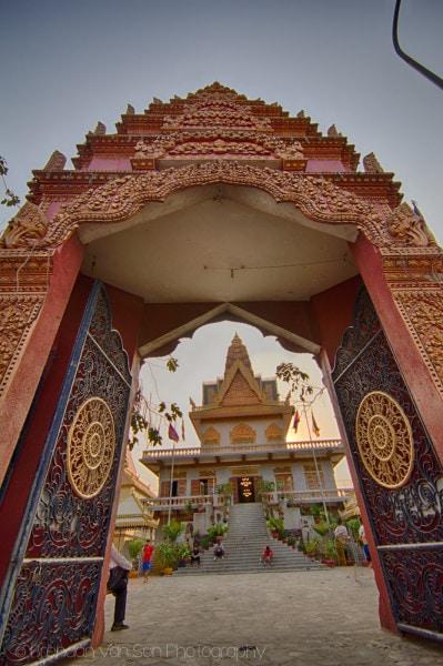 Phnom Penh Buddhist temple