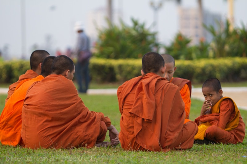 Phnom Penh monks