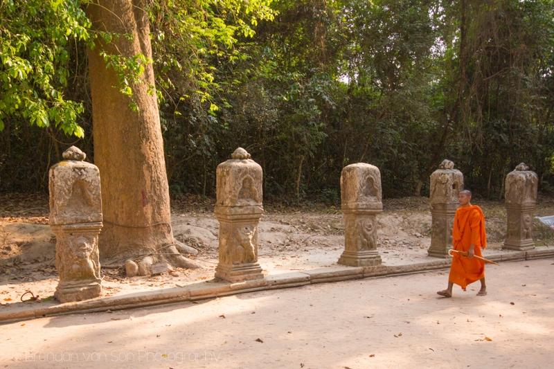 Buddhist Monk Angkor Wat