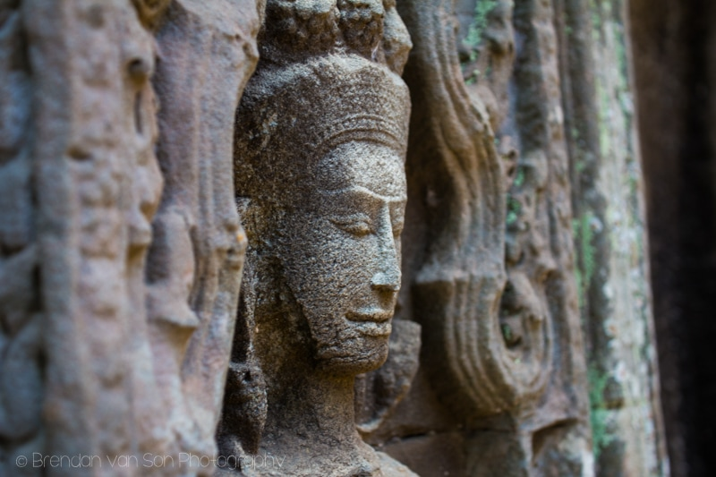 Carving Angkor Wat