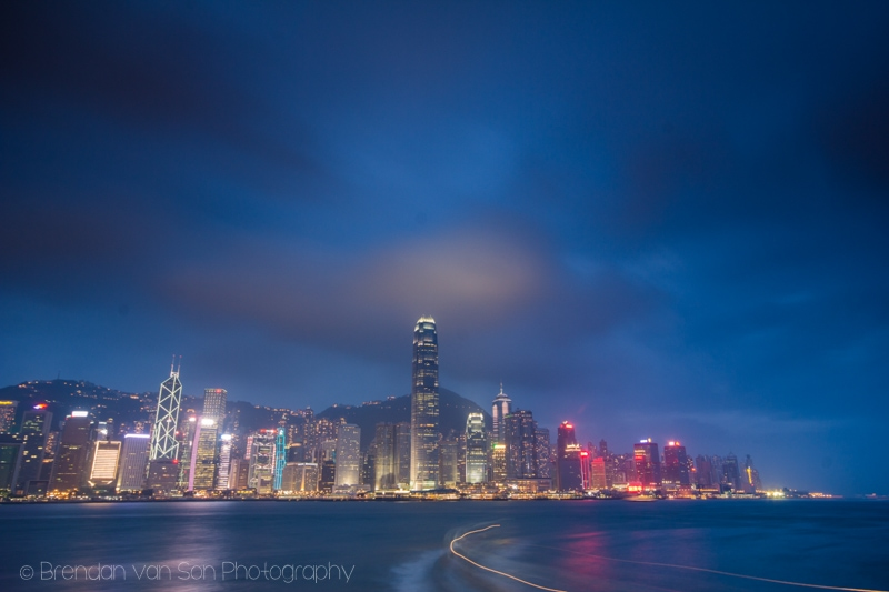 Hong Kong Skyline Victoria Harbour