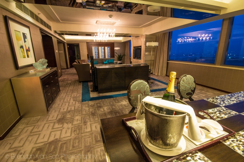 Vice-Presidential Suite, Marriott SkyCity Hong kong