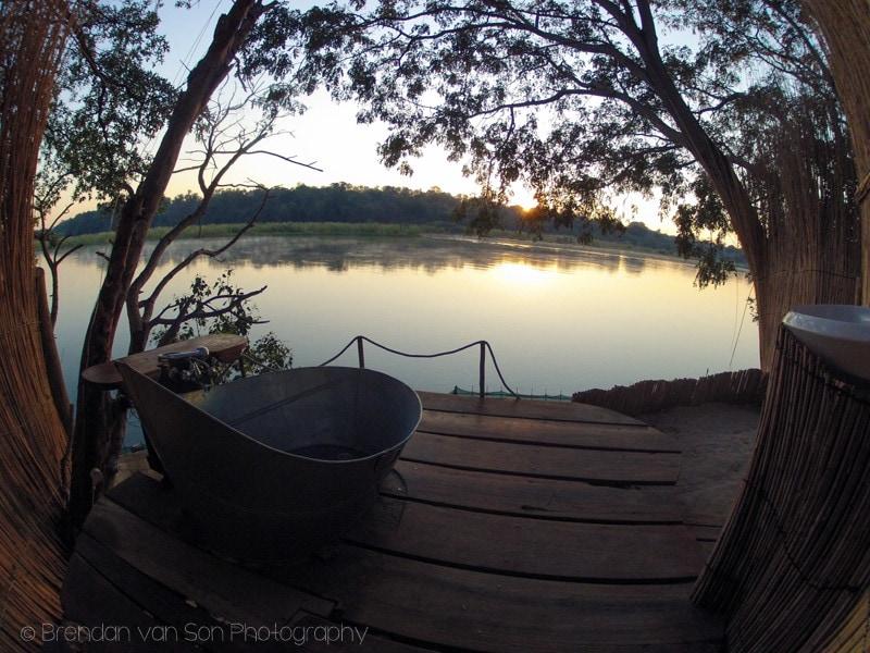 ngepi camp, namibia