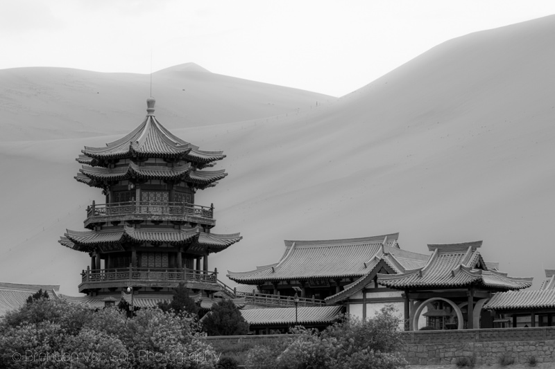 Dunhuang Desert Oasis China