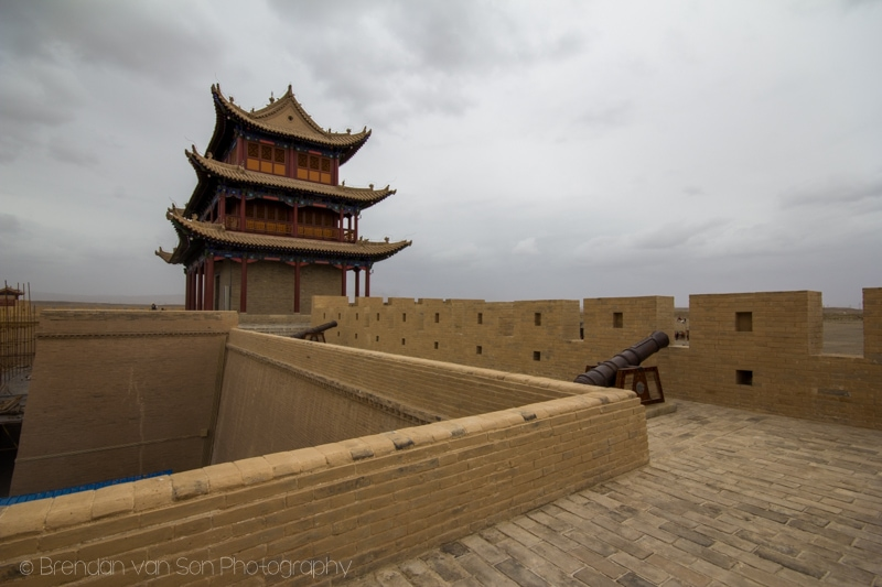 Great Wall of China Jiayuguan