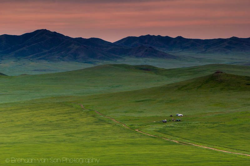 Mongolian Campsite