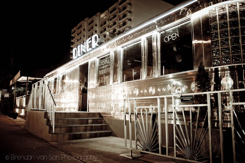 Old-Time Diner Miami