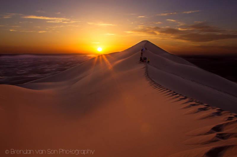 Gobi Desert Sand Dunes