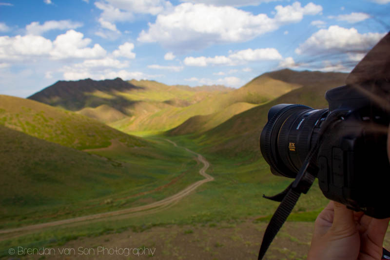 landscapes in Southern Mongolia