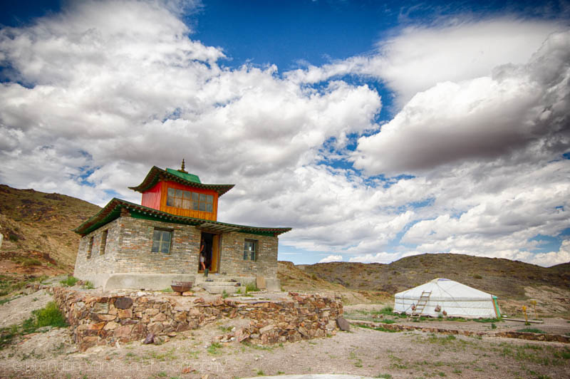 Buddhist Monastery Mongolia