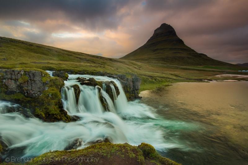 Silky Waterfall, Kirkjufellsfoss, Iceland