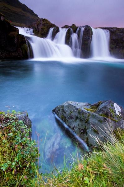 Kirkjufellsfoss, waterfall, iceland