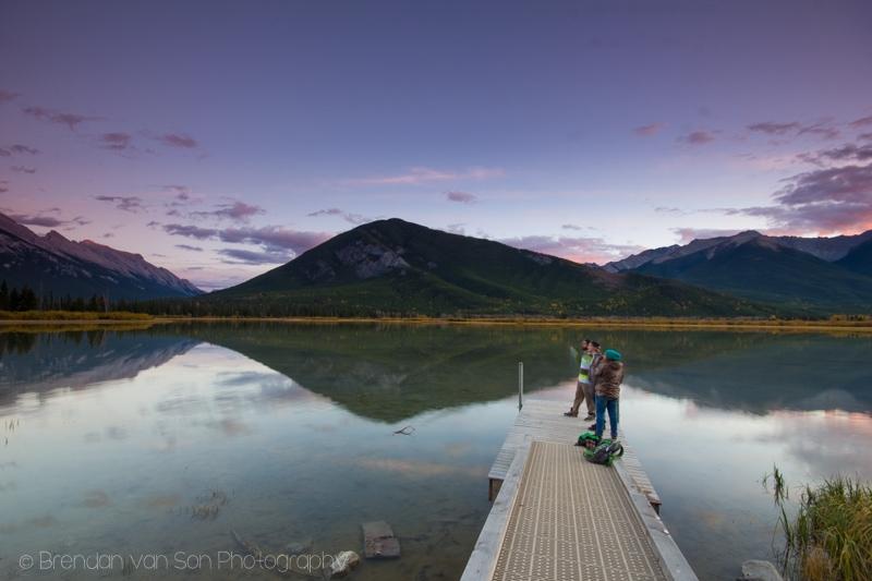 Vermillion Lakes, Rundle Mountain, Banff